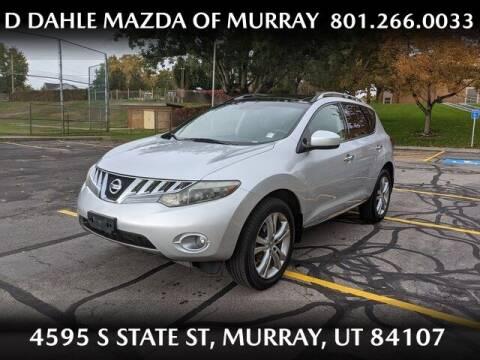 2010 Nissan Murano for sale at D DAHLE MAZDA OF MURRAY in Salt Lake City UT