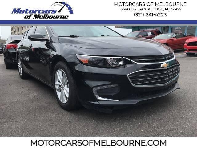 2018 Chevrolet Malibu for sale at Motorcars of Melbourne in Rockledge FL