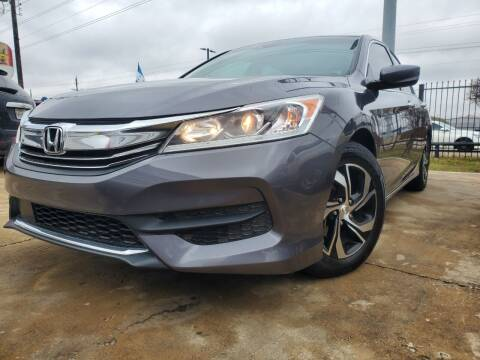 2016 Honda Accord for sale at SP Enterprise Autos in Garland TX