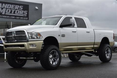 2012 RAM Ram Pickup 3500 for sale at Landers Motors in Gresham OR