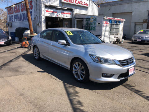 2013 Honda Accord for sale at Riverside Wholesalers 2 in Paterson NJ