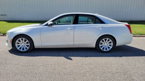 2014 Cadillac CTS for sale at TNK Autos in Inman KS