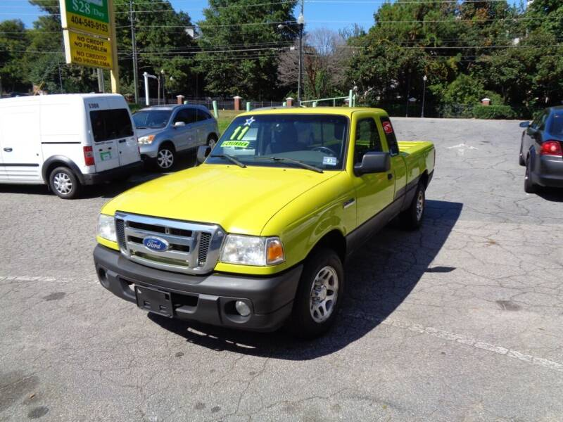 2011 Ford Ranger for sale at Wheels and Deals 2 in Atlanta GA