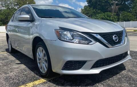 2019 Nissan Sentra for sale at Guru Auto Sales in Miramar FL