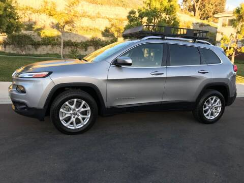 2015 Jeep Cherokee for sale at CALIFORNIA AUTO GROUP in San Diego CA
