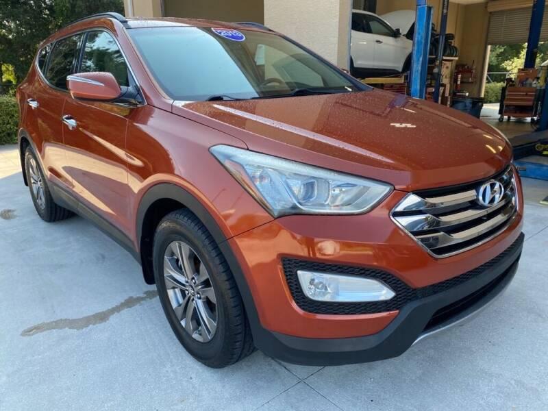 2013 Hyundai Santa Fe Sport for sale at Jeff's Auto Sales & Service in Port Charlotte FL