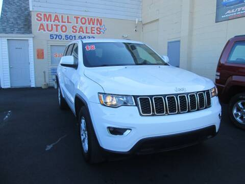 2018 Jeep Grand Cherokee for sale at Small Town Auto Sales in Hazleton PA