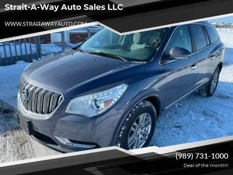 2013 Buick Enclave for sale at Strait-A-Way Auto Sales LLC in Gaylord MI
