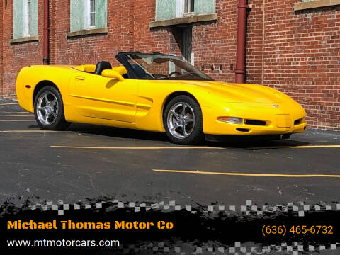 2003 Chevrolet Corvette for sale at Michael Thomas Motor Co in Saint Charles MO