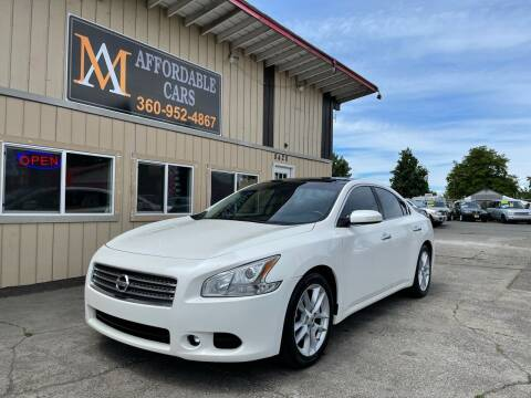 2010 Nissan Maxima for sale at M & A Affordable Cars in Vancouver WA