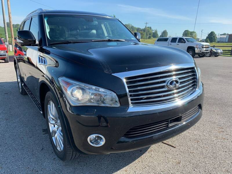 2011 Infiniti QX56 for sale at Todd Nolley Auto Sales in Campbellsville KY