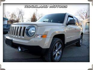 2016 Jeep Patriot for sale at Rockland Automall - Rockland Motors in West Nyack NY