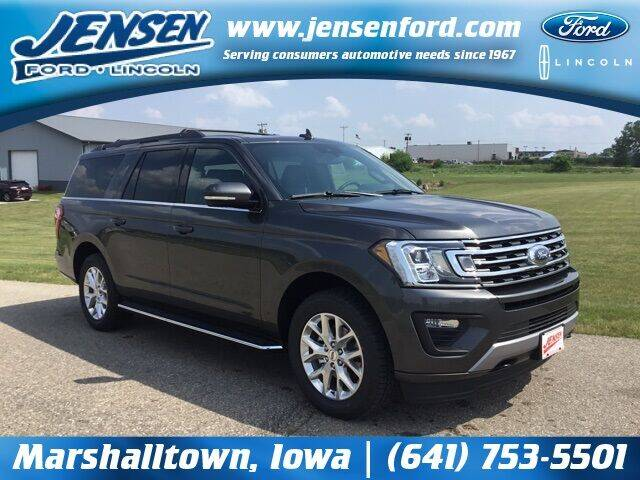 2021 Ford Expedition MAX for sale at JENSEN FORD LINCOLN MERCURY in Marshalltown IA
