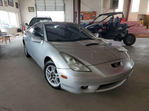 2002 Toyota Celica for sale at PYRAMID MOTORS - Pueblo Lot in Pueblo CO