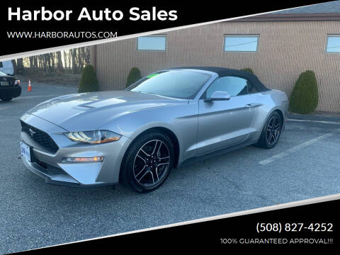 2020 Ford Mustang for sale at Harbor Auto Sales in Hyannis MA