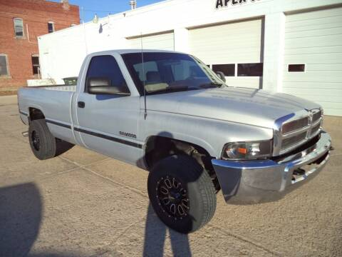 1996 Dodge Ram Pickup 2500 for sale at Apex Auto Sales in Coldwater KS