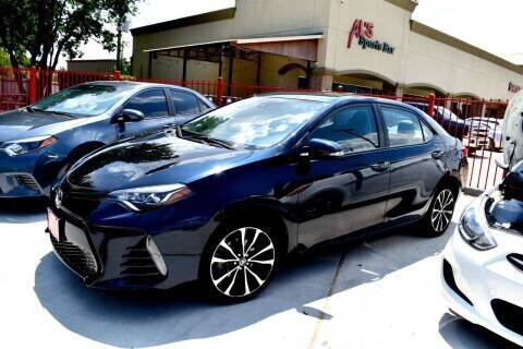2017 Toyota Corolla for sale at Auto Hunters in Houston TX