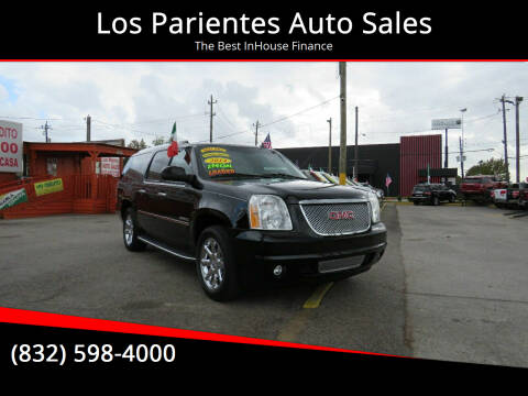 2014 GMC Yukon XL for sale at Los Parientes Auto Sales in Houston TX