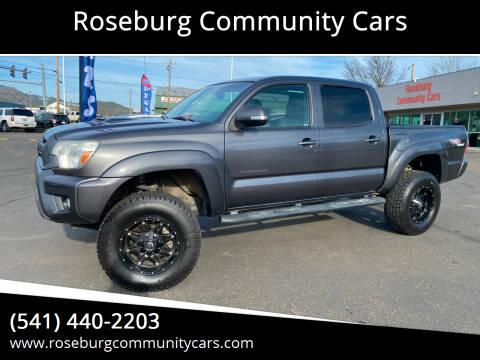 2013 Toyota Tacoma for sale at Roseburg Community Cars in Roseburg OR