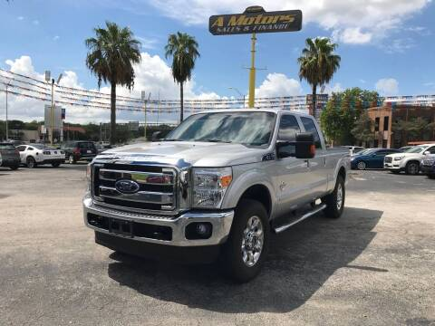 2016 Ford F-250 Super Duty for sale at A MOTORS SALES AND FINANCE in San Antonio TX