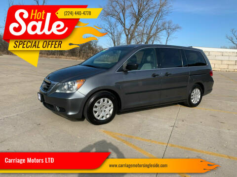 2010 Honda Odyssey for sale at Carriage Motors LTD in Ingleside IL
