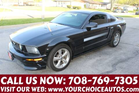 2009 Ford Mustang for sale at Your Choice Autos in Posen IL
