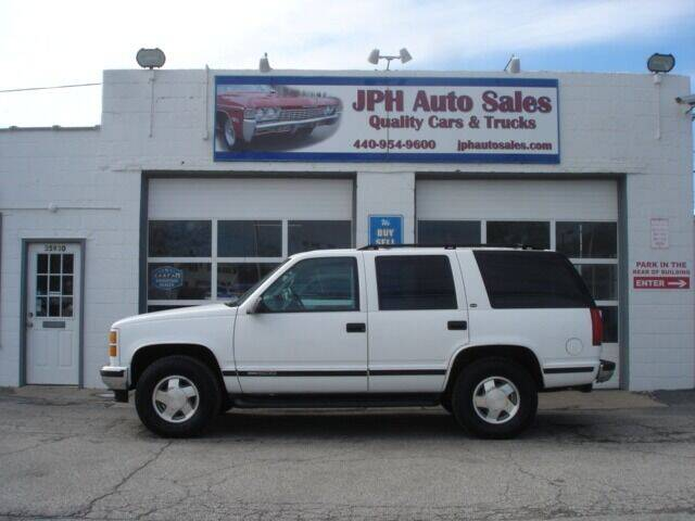 1999 GMC Yukon for sale at JPH Auto Sales in Eastlake OH