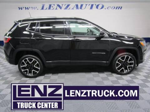 2017 Jeep Compass for sale at LENZ TRUCK CENTER in Fond Du Lac WI