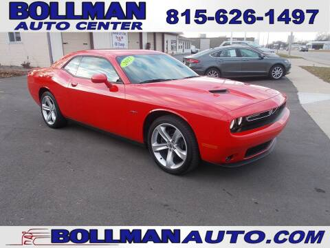 2017 Dodge Challenger for sale at Bollman Auto Center in Rock Falls IL