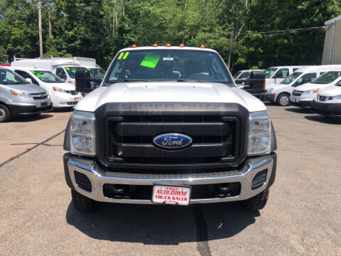 2011 Ford F-450 Super Duty for sale at Auto Towne in Abington MA
