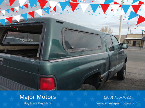1999 Dodge Ram Pickup 1500 for sale at Major Motors in Twin Falls ID