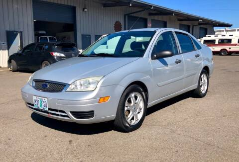2007 Ford Focus for sale at DASH AUTO SALES LLC in Salem OR