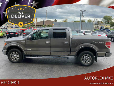 2012 Ford F-150 for sale at Autoplexwest in Milwaukee WI