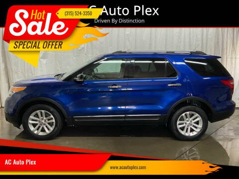 2013 Ford Explorer for sale at AC Auto Plex in Ontario NY