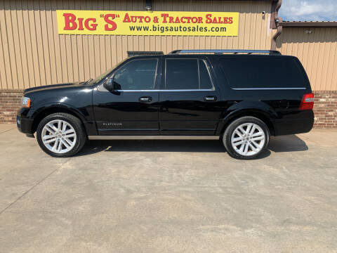2016 Ford Expedition EL for sale at BIG 'S' AUTO & TRACTOR SALES in Blanchard OK