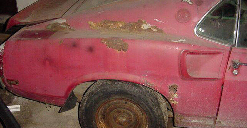 1969 Ford Mustang for sale at Benza Motors in Cincinnati OH