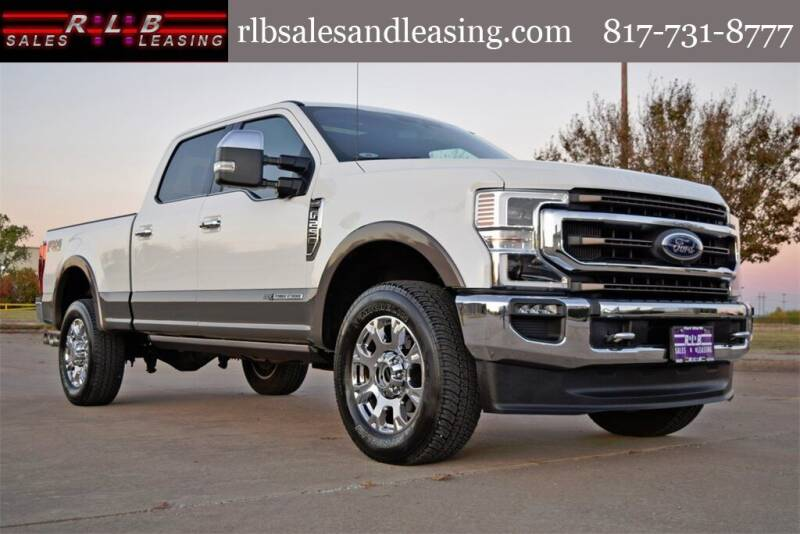 2020 Ford F-250 Super Duty for sale at RLB Sales and Leasing in Fort Worth TX