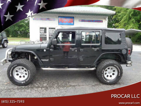 2012 Jeep Wrangler Unlimited for sale at PROCAR LLC in Portland TN