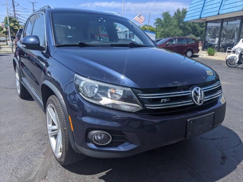 2016 Volkswagen Tiguan for sale at GREAT DEALS ON WHEELS in Michigan City IN