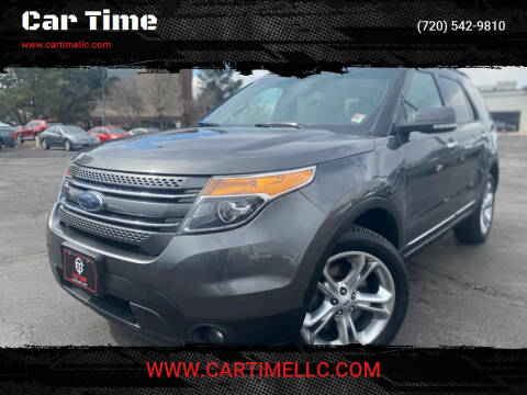 2015 Ford Explorer for sale at Car Time in Denver CO