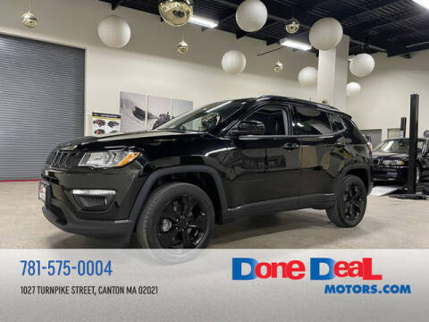 2018 Jeep Compass for sale at DONE DEAL MOTORS in Canton MA