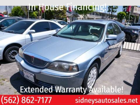 2004 Lincoln LS for sale at Sidney Auto Sales in Downey CA