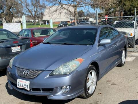 2004 Toyota Camry Solara for sale at River City Auto Sales Inc in West Sacramento CA