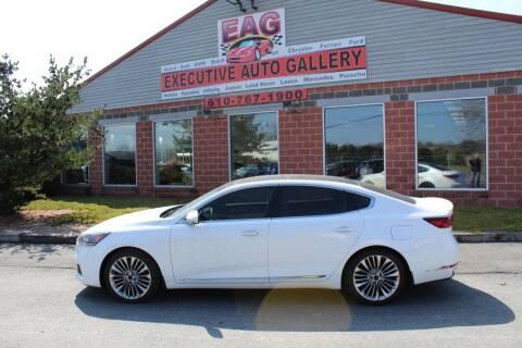 2017 Kia Cadenza for sale at EXECUTIVE AUTO GALLERY INC in Walnutport PA
