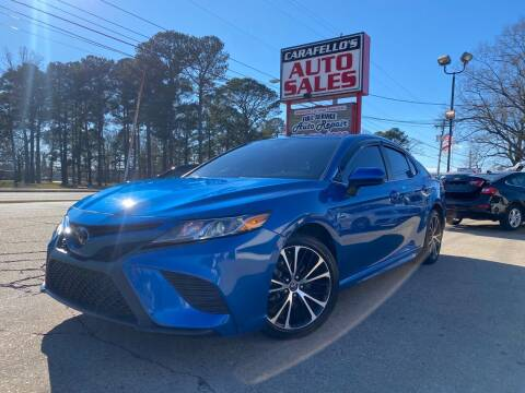 2019 Toyota Camry for sale at Carafello's Auto Sales in Norfolk VA