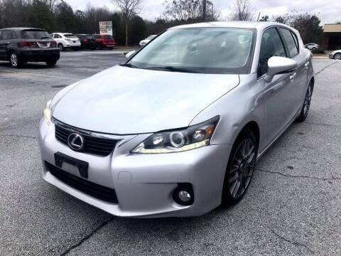 2011 Lexus CT 200h for sale at Atlanta Motor Sales in Loganville GA