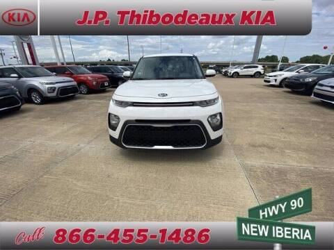2020 Kia Soul for sale at J P Thibodeaux Used Cars in New Iberia LA