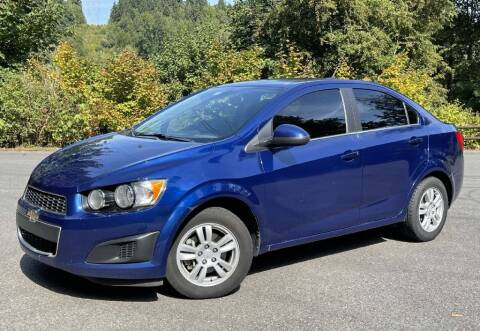 2014 Chevrolet Sonic for sale at Halo Motors in Bellevue WA