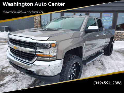 2017 Chevrolet Silverado 1500 for sale at Washington Auto Center in Washington IA