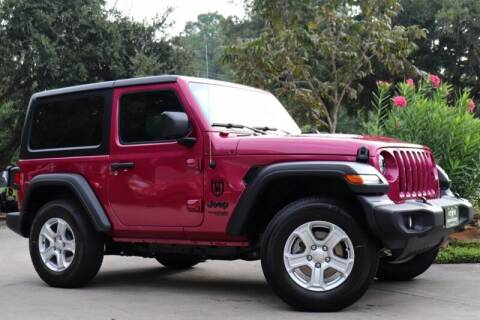 2021 Jeep Wrangler for sale at SELECT JEEPS INC in League City TX